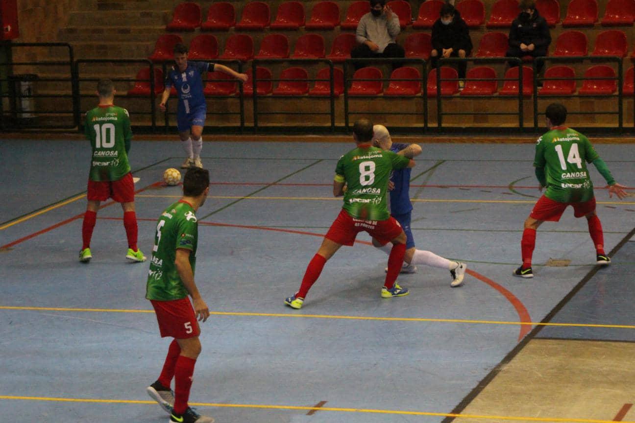 O Esteo inicia su lucha por la liga y el ascenso en Segovia