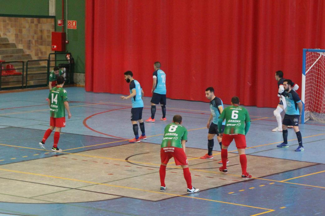 O Esteo cierra la primera fase de la liga recibiendo al Inversia Seguros A Estrada Futsal