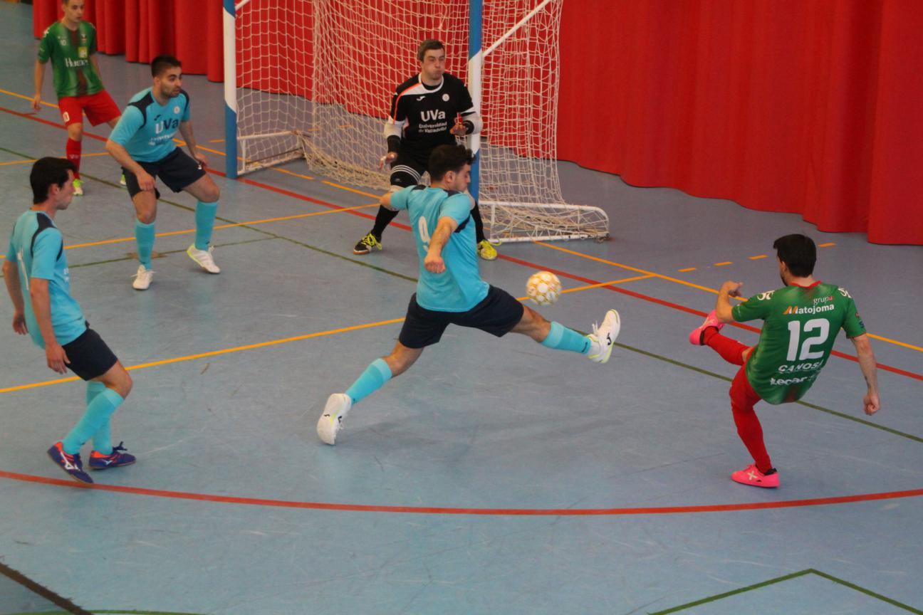 O Esteo logra una gran victoria ante el C.D. Universidad de Valladolid